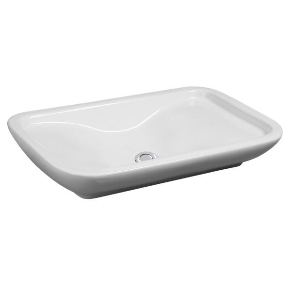 NEG Aufsatz-Waschbecken Uno31A (rechteckig)