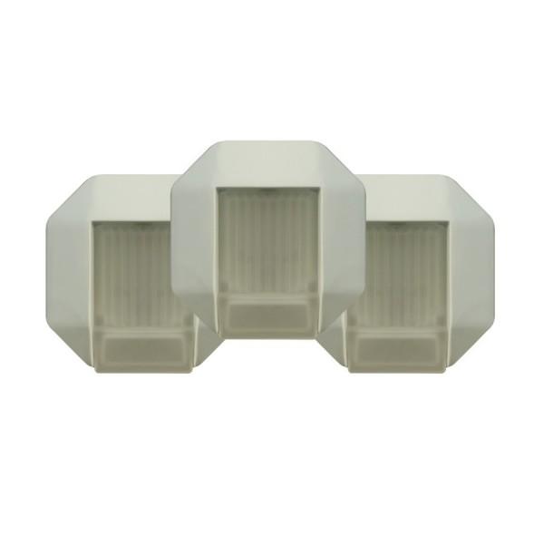 PAULMANN Einbauleuchten-Set, 3x35W GU5.3 (weiß)