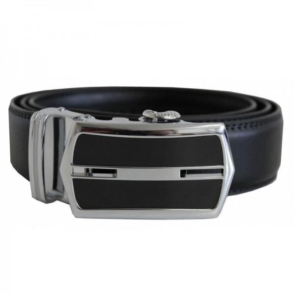 HPC Leder-Gürtel Premium 229 (schwarz) ohne Löcher