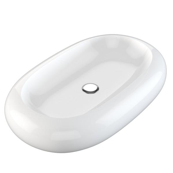 NEG Aufsatz-Waschbecken Uno25A (oval)