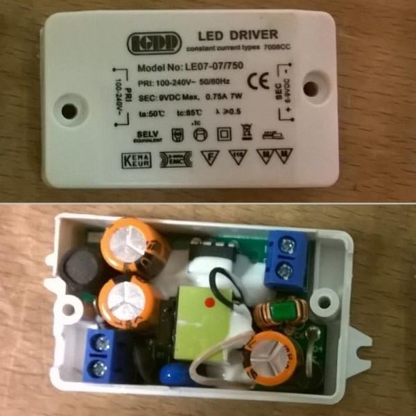 NEG Vorschaltgerät (LED) 0,75A für NEG15, KF632A+ (bis 08/2016)