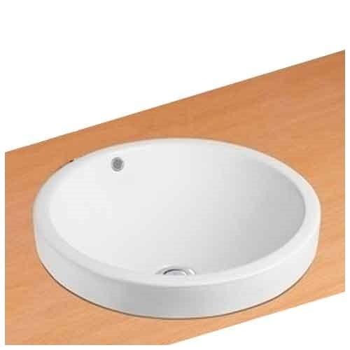 NEG Einbau-Waschbecken Uno35E (rund/teilversenkt)