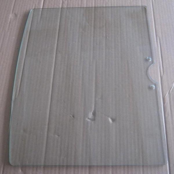 NEG Glas-Ablage (transparent/tief) für Suspender (weiß/silber)