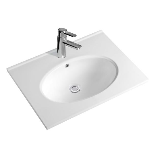 NEG Einbau-Waschbecken Uno59E (eckig)