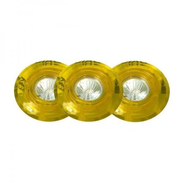 DIAG Einbauleuchten-Set, 3x20W GU4 (gelb)