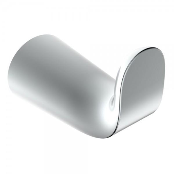 NEG Handtuch-Haken (einfach/doppel) Handtuchhalter/Aufhängung (silber)