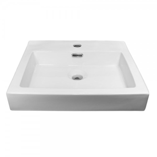 NEG Aufsatz-Waschbecken Uno23A (eckig)
