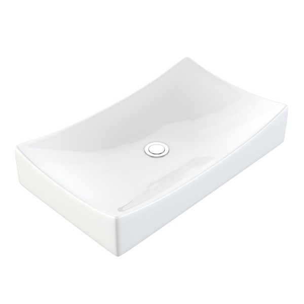 NEG Aufsatz-Waschbecken Uno92A (eckig)