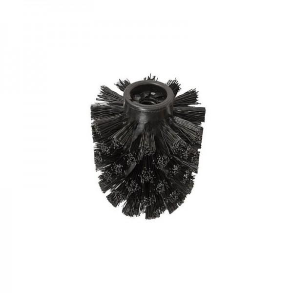 NEG Ersatz-Bürstenkopf Eles (schwarz/rund) 10mm Gewinde