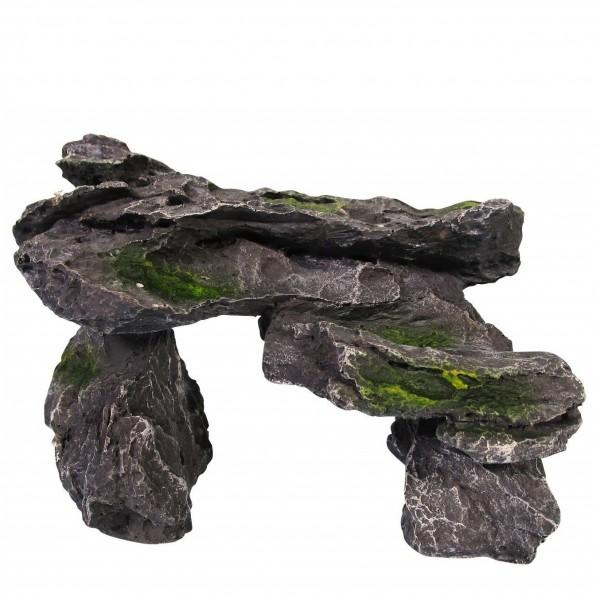 ORBIT Polyresin Felsen-Brücke OB-5254